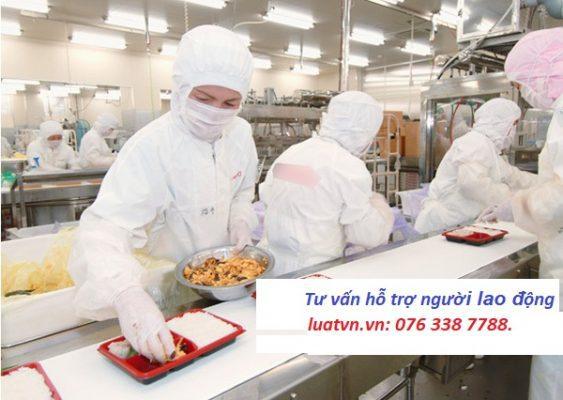 Đơn hàng XKLĐ làm chế biến đồ ăn sẵn