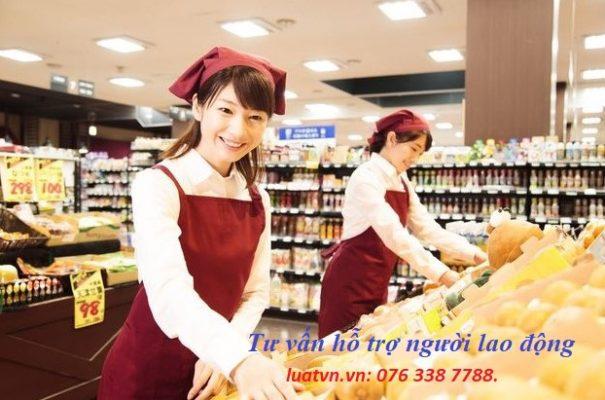 Đơn hàng siêu thị đi Nhật