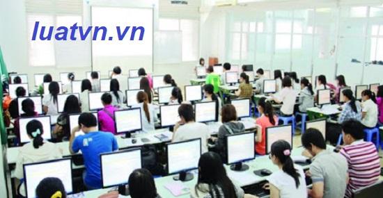 Thành lập trung tâm tin học