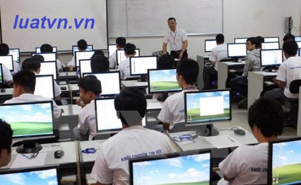 Thủ tục thành lập trung tâm tin học