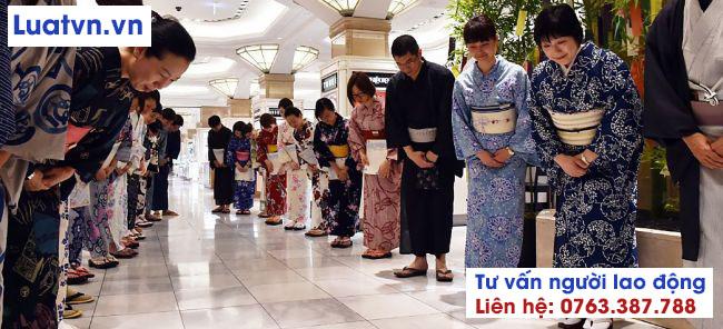 Tất cả những lời chào hỏi của người Nhật luôn đi kèm với cúi người chào sau cùng