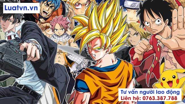 Nhật Bản được biết đến nổi tiếng với Manga và Anime
