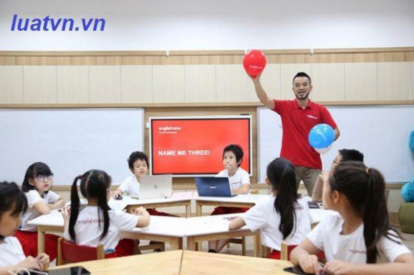 Vị trí và chuẩn trình độ đào tạo của giáo viên trung tâm ngoại ngữ
