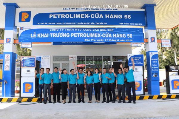 thành lập công ty kinh doanh xăng dầu