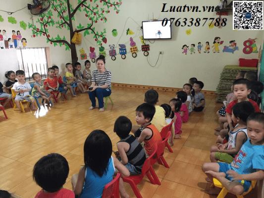 Điều kiện hồ sơ trình tự và thủ tục mở nhóm trẻ