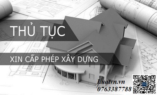 Thủ tục xin giấy phép xây dựng nhà mới nhất
