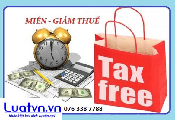 Ưu đãi miễn giảm thuế TNDN