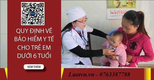 Tư vấn về đăng ký khai sinh và bảo hiểm y tế đối với trẻ em dưới 6 tuổi