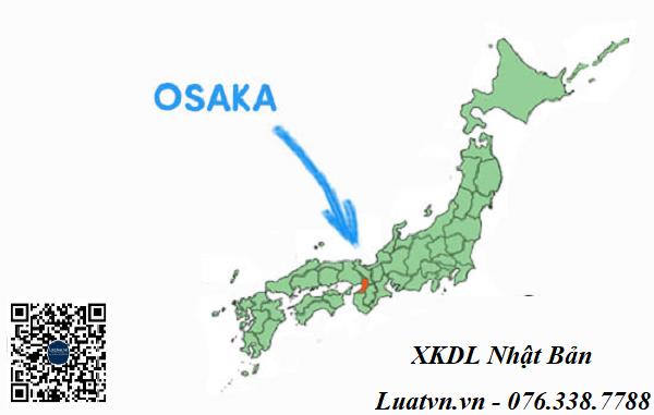 Tỉnh Osaka Nhật Bản – thủ đô ăn uống và thu hút lao động